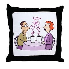 Coffee Love Throw Pillow