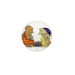 Primitive Love Mini Button