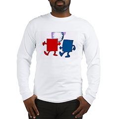 Square Dancing Long Sleeve T-Shirt