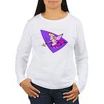 80s Cupid Women's Long Sleeve T-Shirt