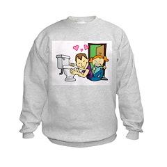 We Love To Potty Sweatshirt