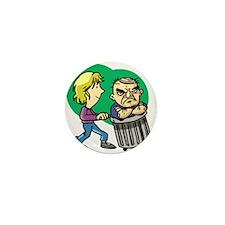 Boyfriends Are Garbage Mini Button
