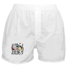 Bulldog Kiss Boxer Shorts