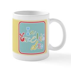 Gloria Funky Christmas Ceramic Coffee Mug