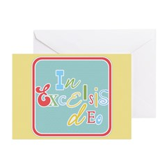 Gloria Funky Christmas Greeting Cards (Pk of 20)