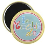 "Gloria Funky Christmas 2.25"" Magnet (100 pack)"