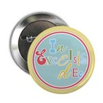 "Gloria Funky Christmas 2.25"" Button (10 pack)"