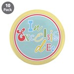 "Gloria Funky Christmas 3.5"" Button (10 pack)"