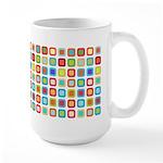 Funky Polka Dot Large Mug (15 oz)