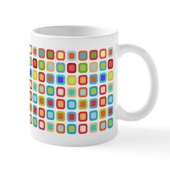 Funky Polka Dot Ceramic Coffee Mug