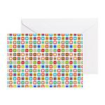 Funky Polka Dot Greeting Card