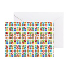Funky Polka Dot Greeting Cards (Pk of 20)