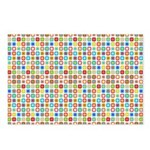 Funky Polka Dot Postcards (Package of 8)