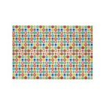 Funky Polka Dot Rectangle Magnet (100 pack)