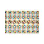 Funky Polka Dot Rectangle Magnet (10 pack)