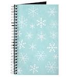 Contemporary Snowflake Journal