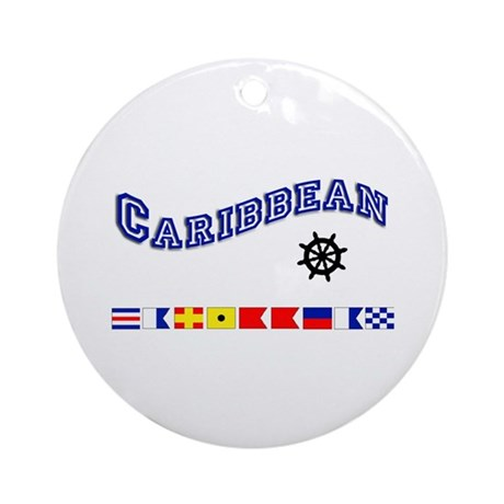 Caribbean Keepsake Ornament