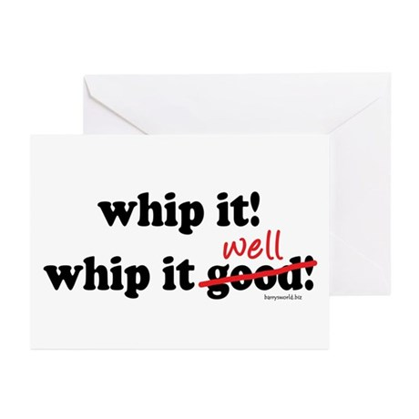 Whip It Well Greeting Cards (Pk of 20)