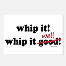 Whip It Well Postcards (Package of 8)