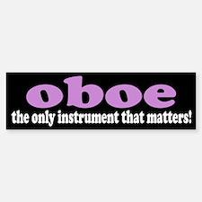 Funny OBOE Bumper Bumper Bumper Sticker