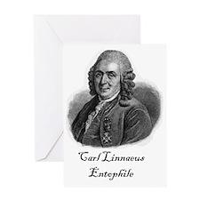 Linnaeus Entophile Greeting Card