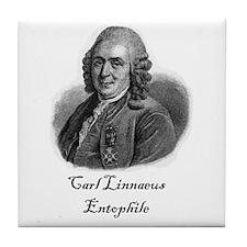 Linnaeus Entophile Tile Coaster