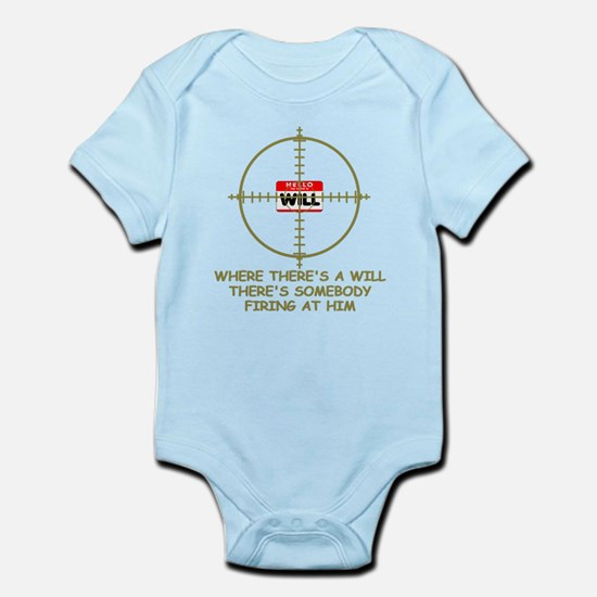 Fire at Will Infant Bodysuit
