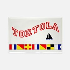 Tortola Rectangle Magnet