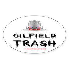 USA Oilfield Trash Oval Decal