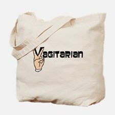 Vagitarian Tote Bag