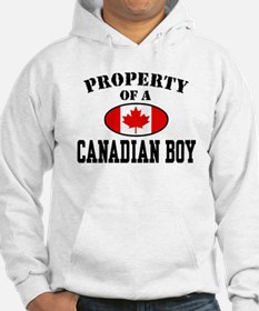 Property of a Canadian Boy Hoodie
