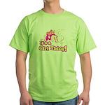 4x4 Girl Thing Green T-Shirt