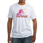4x4 Girl Thing Fitted T-Shirt