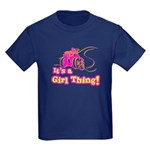 4x4 Girl Thing Kids Dark T-Shirt