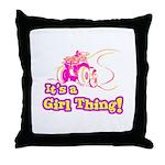 4x4 Girl Thing Throw Pillow