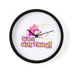 4x4 Girl Thing Wall Clock