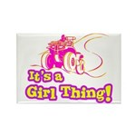 4x4 Girl Thing Rectangle Magnet