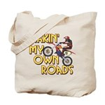 Own Roads - Dirt Bike Tote Bag