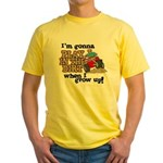 Play In The Dirt Yellow T-Shirt