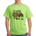 Play In The Dirt Green T-Shirt
