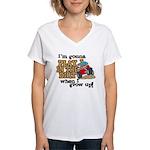 Play In The Dirt Women's V-Neck T-Shirt