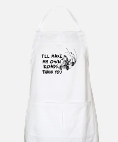 Make My Own Roads BBQ Apron