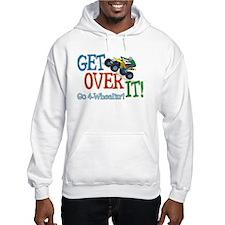 Get Over It - 4 Wheeling Hoodie