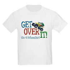 Get Over It - 4 Wheeling T-Shirt
