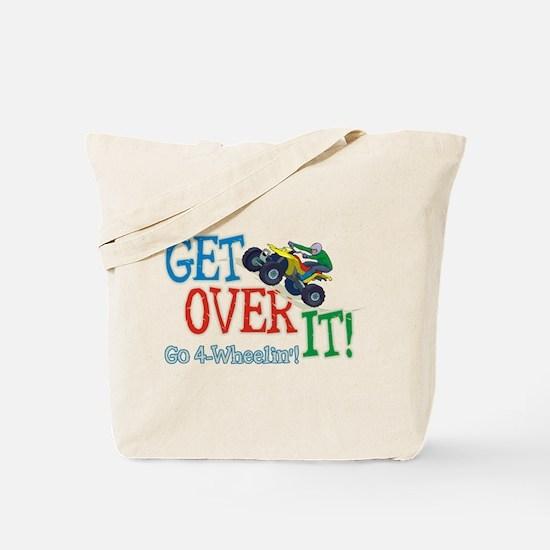 Get Over It - 4 Wheeling Tote Bag