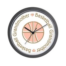 Basketball Grandmother Wall Clock