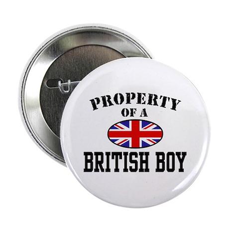 Property of a British Boy Button