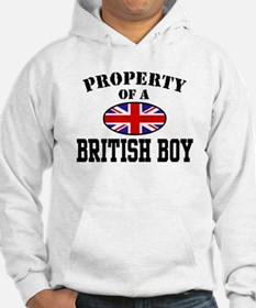 Property of a British Boy Hoodie