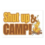 Shut up and camp. Postcards (Package of 8)
