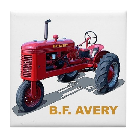 The B.F. Avery Model A Tile Coaster